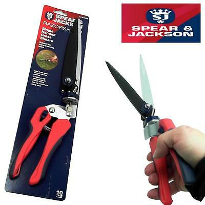 Spear And Jackson Razorsharp Single Handed Grass Shears 10 Year Guarantee