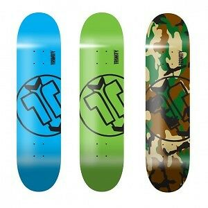 """Trinity Short Board Camo Deck only no grip tape 32"""" x 7.75"""""""