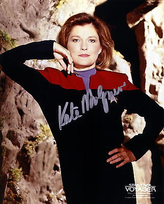 Kate Mulgrew 01S (Captain Jayneway Star Trek Voyager) Photo Print
