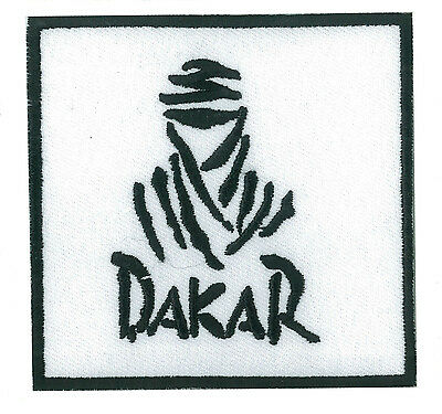 Ecusson patche Dakar thermocollant applique patch automobile brodé