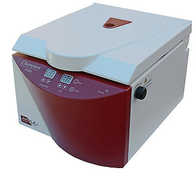 NEW ! Ample Scientific F-33D Clinical Centrifuge, 8x(3-15ml) Fixed Angled Rotor