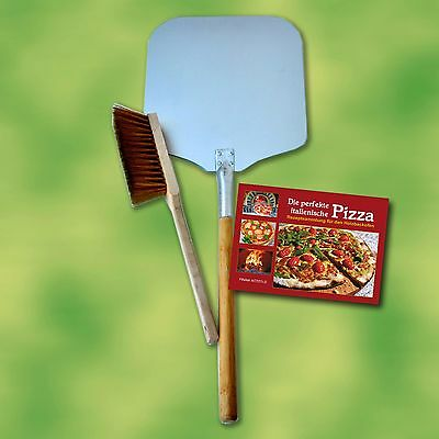 Pizza shovel Set 3-piece for oven Wood-fired Stone Bread