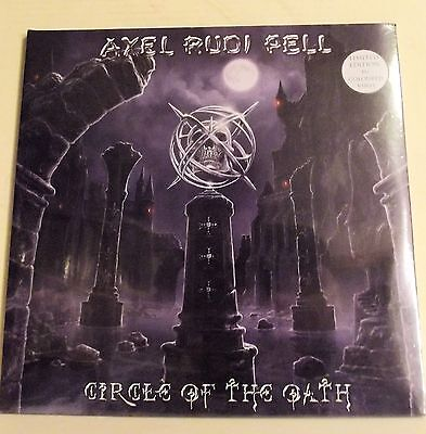 2 Lp-Axel Rudi Pell-Circle Of The Oath-Vinile Colorato Sigillato-2012