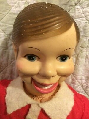 Willie Talk Ventriloquist Dummy Doll Horsman Vintage Puppet Red top