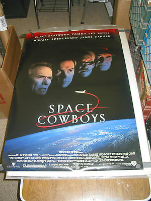 Space Cowboys/orig.  One Sheet  Movie Poster (Clint Eastwood/tommy Lee Jones) Ds