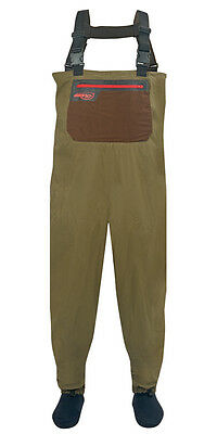 Airflo NEW Airlite Breathable Stocking Foot Fly Fishing Chest Waders - Free P+P