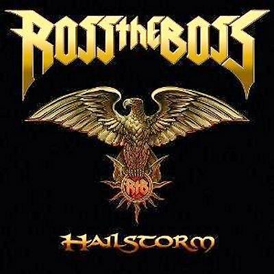 LP-Ross The Boss ‎– Hailstorm-GERMANIA 2010-SIGILLATO/SEALED