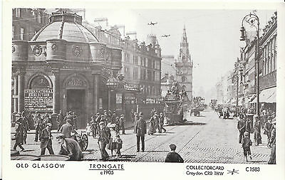 Old Glasgow Postcard - Trongate c1905 - Scotland    BS627