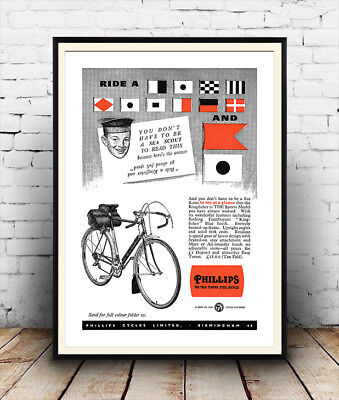 Sport Great Minds Bike Cycle Large Wall Art Poster Print LF3891