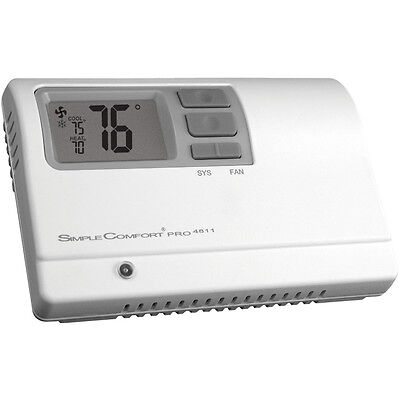 ICM SC4811 SimpleComfort® PRO non-programmable thermostat 2 stage