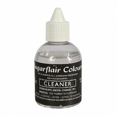 Sugarflair Edible Sugarcraft Airbrush Cleaner Food Colouring Colour Thinner 60ml