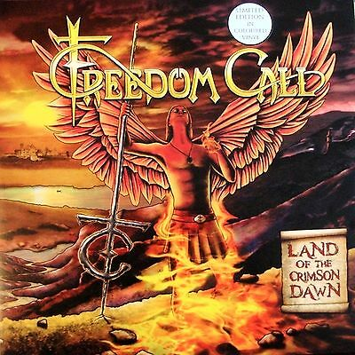 2 LP- Freedom Call-Land Of The Crimson Dawn-LIM.EDIZ.VINILE COLORATO-SIGILLATO
