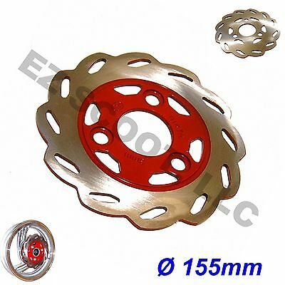 FRONT WAVE DISK BRAKE ROTOR SCOOTER 155mm 50-150cc GY6 SCOOTER ATV TAOTAO JONWAY