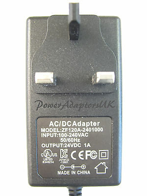 600Ma/0.6A 24V Ac/dc Regulated Power Adaptor/supply/charger/psu