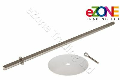 ARCHWAY Doner Kebab Grill Skewer Shish Complete with Disk & Holding Pin