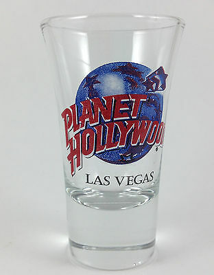 Planet Hollywood Las Vegas NV Nevada Double Shot Curved Glass 2 oz. Bar Man Cave