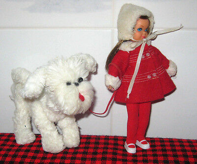 1966 Extremely Rare Vintage~Tutti Doll Set~Me And My Dog~3554~Complete+Mint~Vhtf
