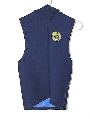 Body Glove Surfing Swimming Wetsuit BlueNavy Size Small Size zipper and Hood