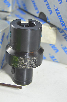 "VALENITE VT40-32-040 5T5 CAT 40 MODULAR TOOL HOLDER Adaptor Extension 7/8"" Shank"