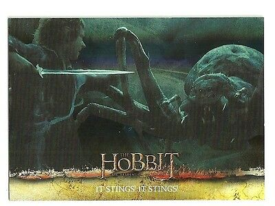 2015 The Hobbit Desolation of Smaug Silver Foil Card # 10
