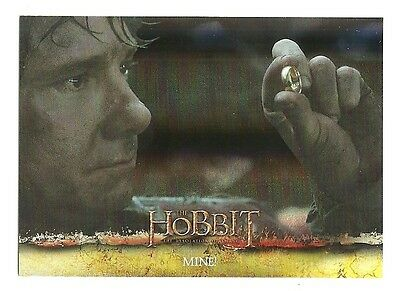 2015 The Hobbit Desolation of Smaug Silver Foil Card # 11