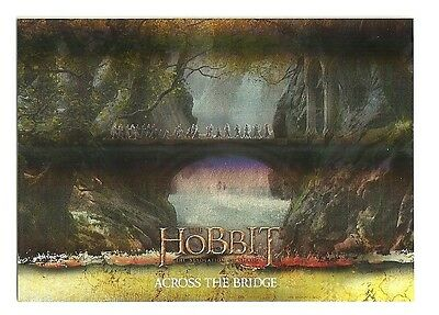 2015 The Hobbit Desolation of Smaug Silver Foil Card # 12
