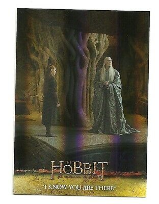 2015 The Hobbit Desolation of Smaug Silver Foil Card # 16