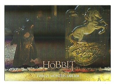 2015 The Hobbit Desolation of Smaug Silver Foil Card # 2