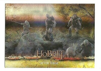 2015 The Hobbit Desolation of Smaug Silver Foil Card # 22