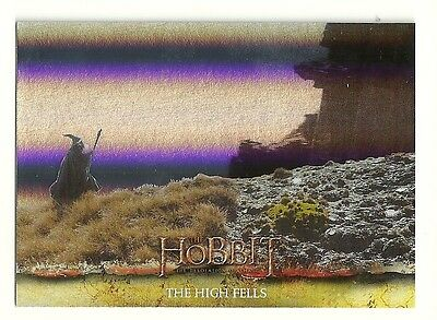 2015 The Hobbit Desolation of Smaug Silver Foil Card # 24
