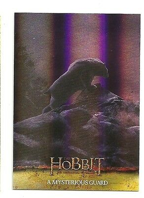 2015 The Hobbit Desolation of Smaug Silver Foil Card # 3