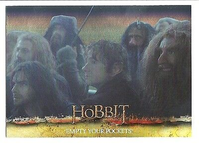 2015 The Hobbit Desolation of Smaug Silver Foil Card # 32