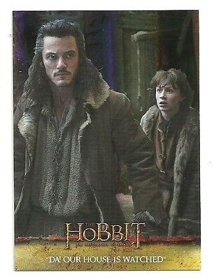 2015 The Hobbit Desolation of Smaug Silver Foil Card # 37