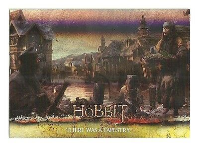 2015 The Hobbit Desolation of Smaug Silver Foil Card # 43