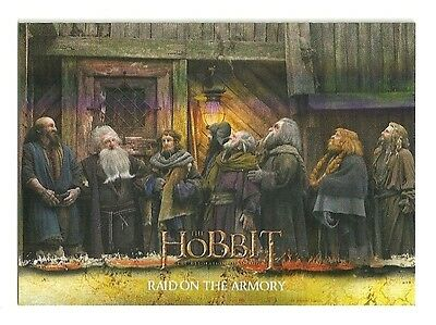 2015 The Hobbit Desolation of Smaug Silver Foil Card # 44