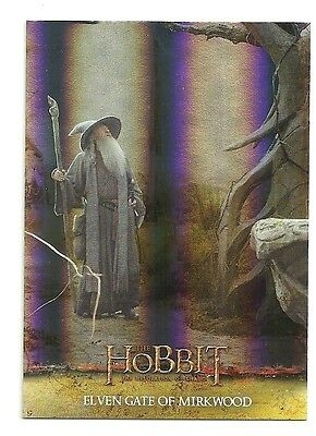 2015 The Hobbit Desolation of Smaug Silver Foil Card # 6