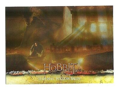 2015 The Hobbit Desolation of Smaug Silver Foil Card # 68