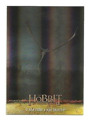 2015 The Hobbit Desolation of Smaug Silver Foil Card # 71