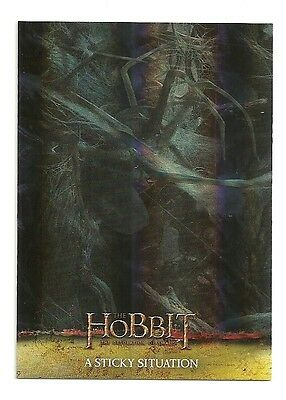 2015 The Hobbit Desolation of Smaug Silver Foil Card # 9