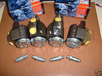 FRONT WHEEL CYLINDERS (4) for HUMBER HAWK MKVI  1954-57