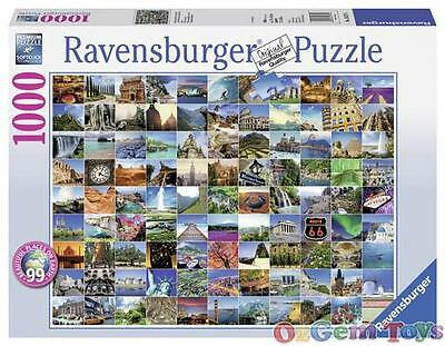 99 Beautiful Places on Earth Ravensburger Jigsaw Puzzle 1000 Piece