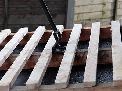 PALLET BREAKER CROW BAR TOOL RECYCLING UP CYCLING JoIsts Floor Boards