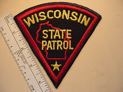 WISCONSIN STATE HIGHWAY PATROL PATCH