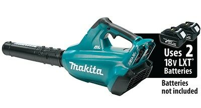 Makita XBU02Z 36V (18Vx2) Brushless Leaf Yard Blower Cordless Uses 2 Batteries