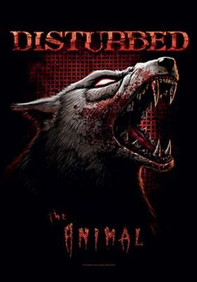 DISTURBED - THE ANIMAL - FABRIC POSTER - 30x40 WALL HANGING 52126