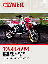 Clymer Yamaha Yz125 & Yz250; 1985-1987 And Yz490 1985-1990 (M390)