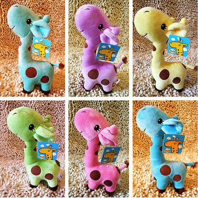 Nice Gift Plush Giraffe Soft Toy Animal Dear Doll Baby Kid Child Birthday Happy