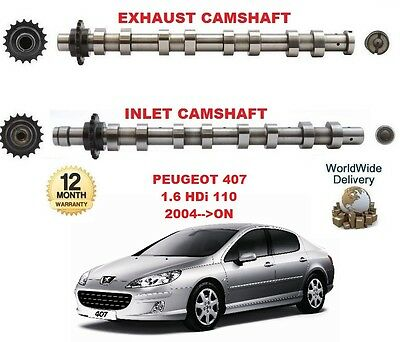 For Peugeot 407 1.6 Hdi 110 2004-->On New Inlet & Exhaust Engine Camshaft