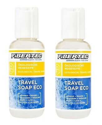 Öklogische Reiseseife Fibertec Travel Soap Eco 100 ml