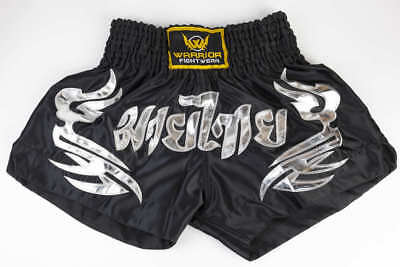 Muay Thai Boxing Shorts Kickboxing Boxing K1 Quality Satin WFW